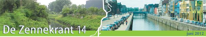 Coördinatie Zenne: Zennekrant 14 - juni 2012