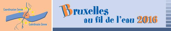 Coordination Senne - Bruxelles au fil de l'eau 2016